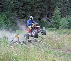 ATVs can jump steel cattle guards with ease. Cattle? Not so much!