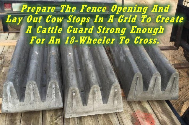 Front Page Cattle Guard Forms